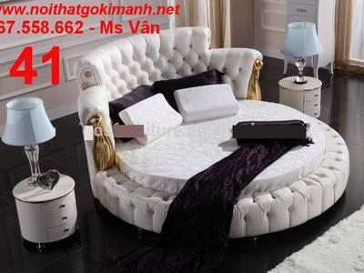 Giường tròn sành điệu - đặt mua giường tròn giá rẻ tại xưởng 2