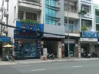 Cho thuê gấp nhà mặt tiền đường Nguyễn Bỉnh Khiêm, Quận 1: 4.5m x 15m, trệt, 3 lầu, ST, gần NĐChiểu. 2