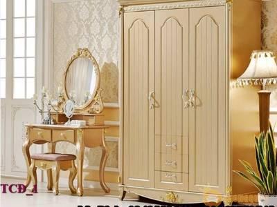 Tủ quần áo cổ điển, tủ quần áo tân cổ điển đẹp, mẫu mã đa dạng, giá cả hợp lý 0