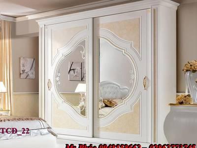 Tủ quần áo cổ điển, tủ quần áo tân cổ điển đẹp, mẫu mã đa dạng, giá cả hợp lý 19