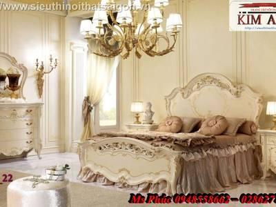 Giường ngủ cổ điển cao cấp Bình Dương, Giường ngủ cổ điển Cần thơ 1