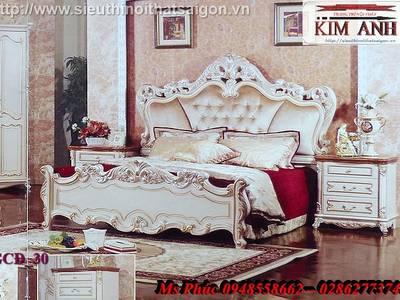 Giường ngủ cổ điển cao cấp Bình Dương, Giường ngủ cổ điển Cần thơ 9
