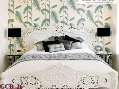 Giường ngủ cổ điển cao cấp Bình Dương, Giường ngủ cổ điển Cần thơ 15