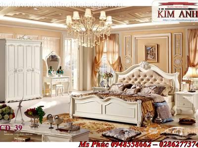 Giường ngủ cổ điển cao cấp Bình Dương, Giường ngủ cổ điển Cần thơ 18