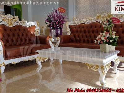 Sang trọng với 20  mẫu sofa tân cổ điển nhập khẩu tại nội thất Kim Anh sài gòn 12