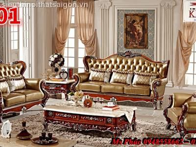Sang trọng với 20  mẫu sofa tân cổ điển nhập khẩu tại nội thất Kim Anh sài gòn 19