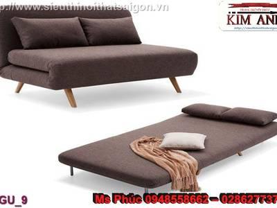 Sofa giường gỗ, ghế sofa giường gỗ giá rẻ 5