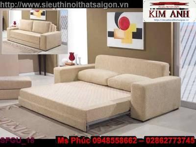 Sofa giường gỗ, ghế sofa giường gỗ giá rẻ 14