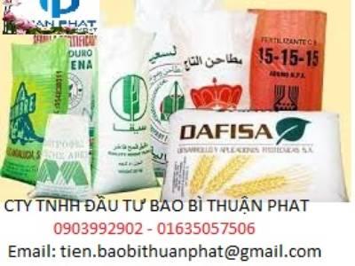 Chuyên cung cấp các loại bao đựng gạo trắng, in flexo giá rẻ 3