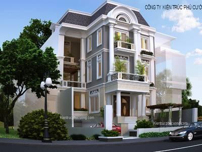 Thiết Kế Biệt Thự Đẹp Tại Hà Nội, Thiết Kế Nhà Biệt Thự Giá Rẻ ở Hà Nội 7