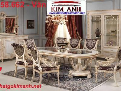 Mẫu bàn ăn cổ điển đẹp - bàn ăn cổ điển Cần Thơ Vĩnh Long - mua bàn ăn cổ điển ở đâu rẻ 17