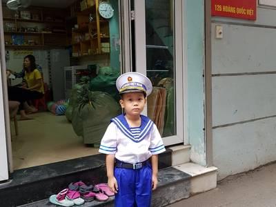 Quần áo hóa trang nghề nghiệp cho bé 0