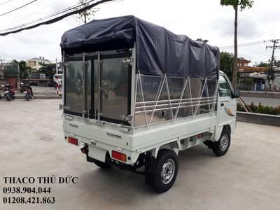 Xe tải nhỏ Thaco 800kg/900kg, xe tải Thaco towner 800 thùng mui bạt 3