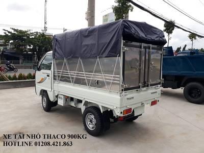 Xe tải nhỏ Thaco 800kg/900kg, xe tải Thaco towner 800 thùng mui bạt 5