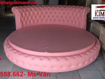 Giường tròn sành điệu - đặt mua giường tròn giá rẻ tại xưởng 6