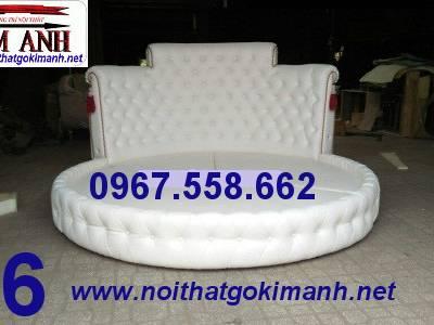 Giường tròn sành điệu - đặt mua giường tròn giá rẻ tại xưởng 10
