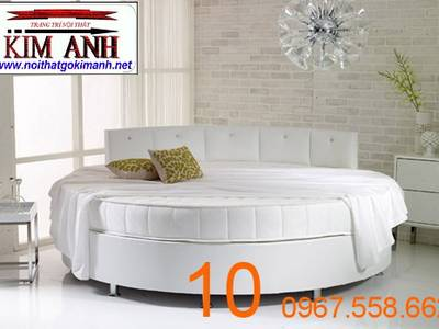 Giường tròn sành điệu - đặt mua giường tròn giá rẻ tại xưởng 12