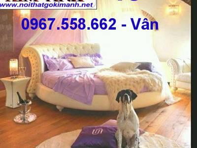 Giường tròn sành điệu - đặt mua giường tròn giá rẻ tại xưởng 13