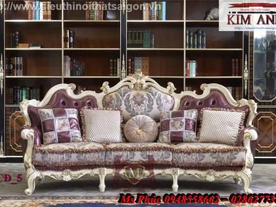 Sofa cổ điển phong cách châu âu mới nhất năm 2018   Nội thất Kim Anh 1