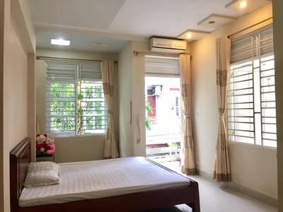 Cho thuê Nhà Văn Cao Hải Phòng đẹp 3,5 tầng, 4 phòng ngủ đầy đủ nội thất để ở 1