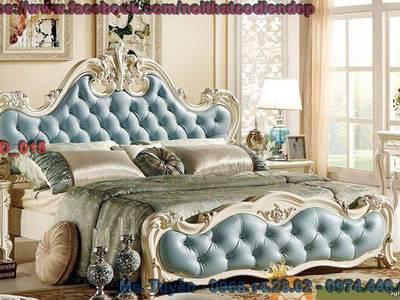 Giường ngủ tân cổ điển giá rẻ , bộ giường ngủ cổ điển tại tphcm , giường cổ điển Châu Âu tại Cần Thơ 7