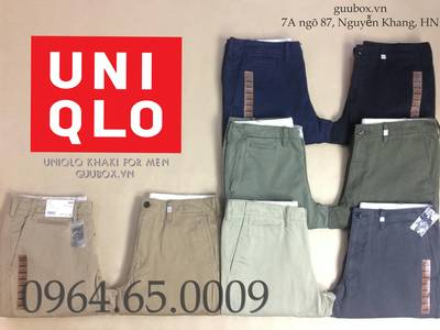 Quần kaki UNIQLO xuất Nhật, chuẩn xịn 290k 0