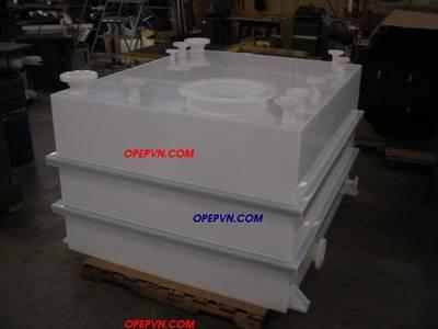 Tháp hấp thụ khí thải bằng nhựa :PE, PVC-PP-FRPcompositte 4