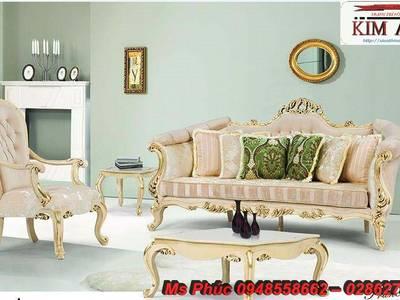 Sofa tân cổ điển hồ chí minh, sofa tân cổ điển nhập khẩu cao cấp 2