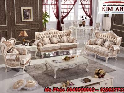 Sofa tân cổ điển hồ chí minh, sofa tân cổ điển nhập khẩu cao cấp 4