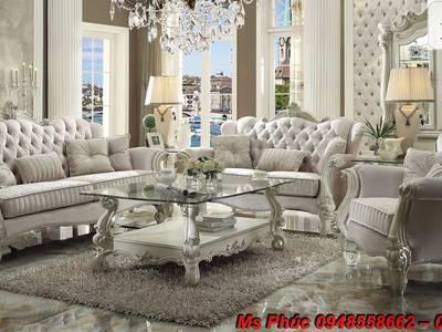 Sofa tân cổ điển hồ chí minh, sofa tân cổ điển nhập khẩu cao cấp 11