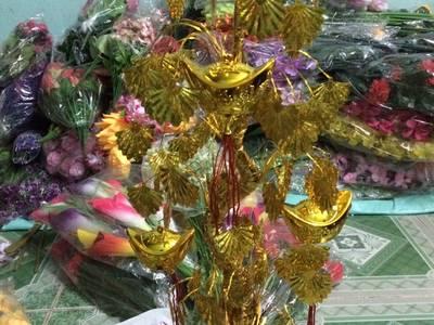 Cơ Sở Sản Xuất Hoa Giả Và Cây Lá Ngọc - Cành Vàng Uy Tín , Chất Lượng. 18
