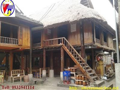 Phòng nhà sàn Mai Châu cho thuê giá rẻ 0