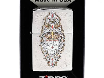 Zippo Skull Lighters - 28794 0