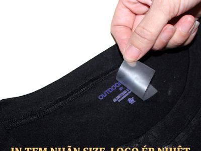 - HCM - In chuyển nhiệt tem nhãn size, logo trên quần áo 0