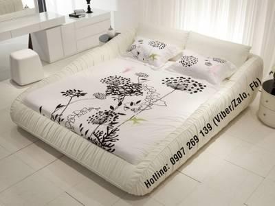 Mê mẩn với chiếc giường ngủ bọc da sang chảnh, quyến rũ 10