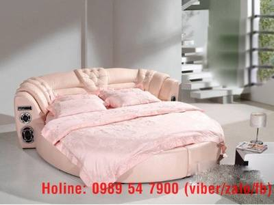 Giường tròn sành điệu, giường nệm cao cấp cho khách sạn giá tận gốc 2