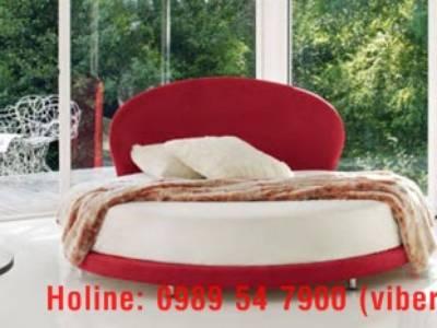 Giường tròn sành điệu, giường nệm cao cấp cho khách sạn giá tận gốc 3