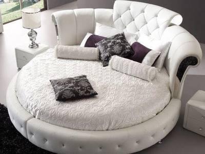 Giường tròn sành điệu, giường nệm cao cấp cho khách sạn giá tận gốc 6