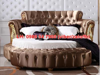Giường tròn sành điệu, giường nệm cao cấp cho khách sạn giá tận gốc 14