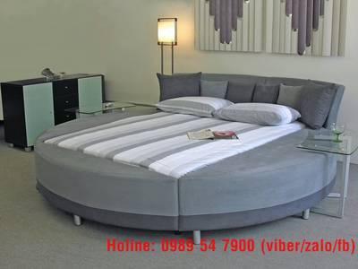 Giường tròn sành điệu, giường nệm cao cấp cho khách sạn giá tận gốc 16
