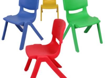 Ghế đúc nhựa nguyên khối bền đẹp theo chuẩn trường học 4