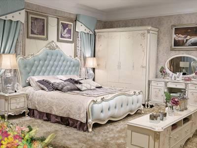 Giường cổ điển - giường ngủ tân cổ điển q1 q2 q7 q9 4
