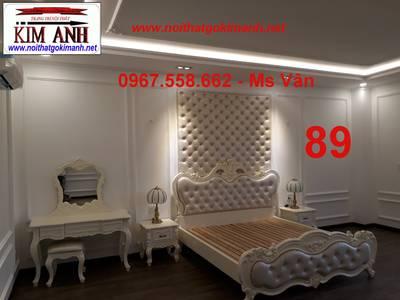 Giường cổ điển - giường ngủ tân cổ điển q1 q2 q7 q9 7