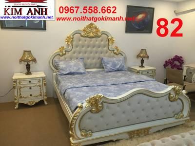 Giường cổ điển - giường ngủ tân cổ điển q1 q2 q7 q9 10