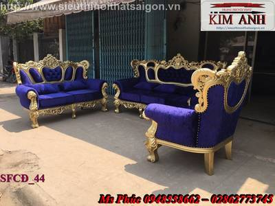Sofa tân cổ điển giá rẻ tại tphcm, bán ghế sofa cổ điển Châu Âu tại xưởng 5