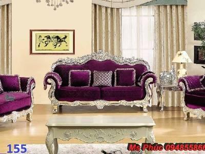 Sofa tân cổ điển giá rẻ tại tphcm, bán ghế sofa cổ điển Châu Âu tại xưởng 10