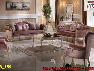 Sofa tân cổ điển giá rẻ tại tphcm, bán ghế sofa cổ điển Châu Âu tại xưởng 12