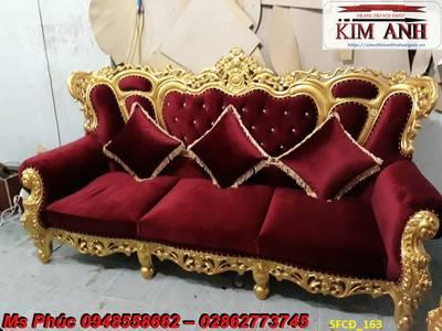 Sofa tân cổ điển giá rẻ tại tphcm, bán ghế sofa cổ điển Châu Âu tại xưởng 13