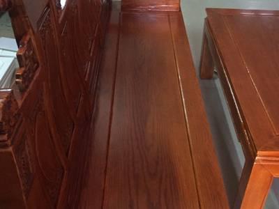 Bộ bàn ghế âu á hộp - gỗ sồi nga - Loại 2m2 và 2m4 4