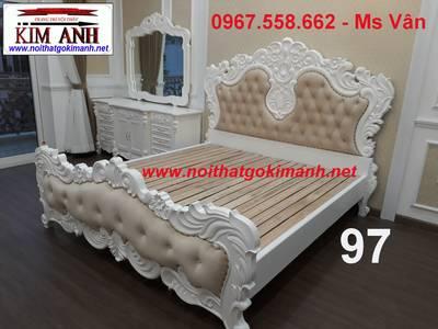 Giường ngủ cổ điển - giường ngủ phong cách châu âu 15